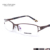 Gracioso Mulheres Bling Bling Strass metade quadro Optical Óculos Óculos Frames Prata Metálico/Violeta/Brown 5052
