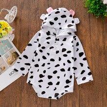 SAGACE/пальто для новорожденных девочек и мальчиков комбинезон-толстовка с капюшоном верхняя одежда для малышей, топы с длинными рукавами для маленьких мальчиков