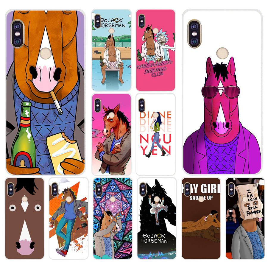 046fg Bojack Horseman Soft Silicone Tpu Cover Phone Case For Xiaomi Redmi 5a 5plus Note 5 5a Pro