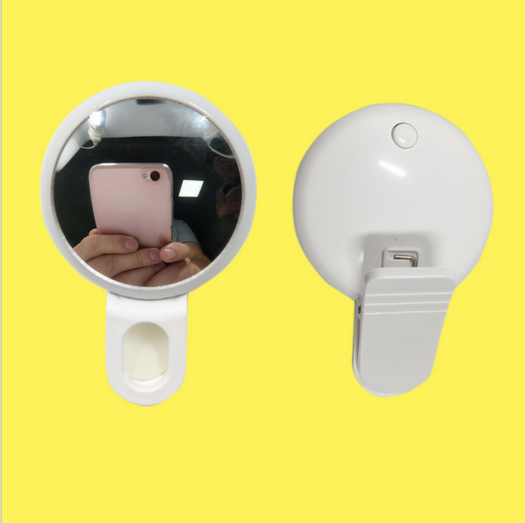 portable Mobile phone Fill-in light mirror screen LED Makeup Mirror Professional Vanity Mirrors With LED Lights mirrors omar faisal mobile banking perspective in bangladesh