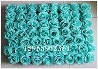 EMS Free Shipping 60 40cm Tiffany Mix Color Artificial Silk Rose Flower Wall Wedding Background Lawn