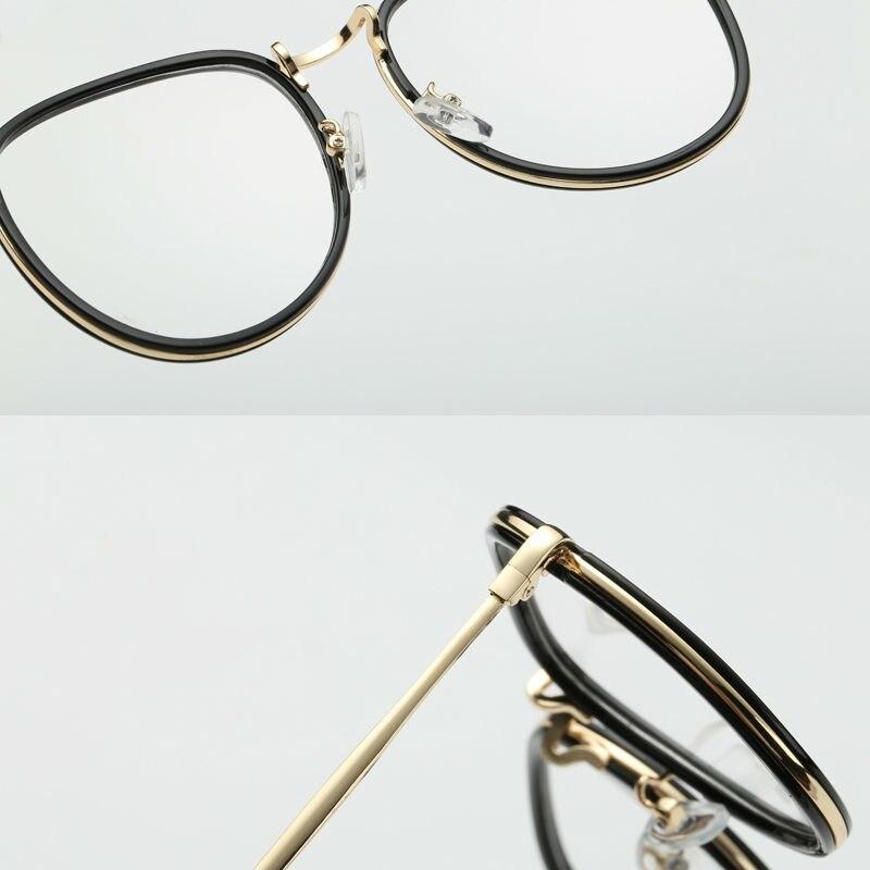 Mode Übergroßen Brillen Frames Männer Frauen Retro Designer Brillen ...