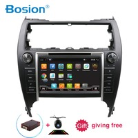 Bosion 2 din Android 7.1 car GPS navigation Car DVD Player For Toyota Carmy 2012 multimedia radio recorder 2GB+16GB WIFI BT DAB+