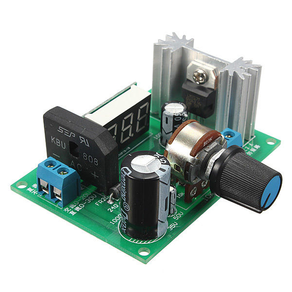 LM317 Adjustable Voltage Regulator Step-down Power Supply Module LED Meter lm317 adjustable voltage regulator step down power supply module