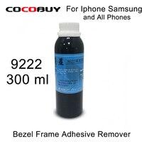 Бесплатная доставка 1 бутылки 2 бутылки 300 мл средний кадр/рамка для удаления всех смартфон ЖК-дисплей Экран ремонт