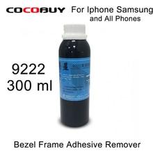 Free Shipping 1 Bottles 2 Bottles 300ml Middle Frame/ Bezel Glue Remover  For All Smartphone LCD Screen Repair
