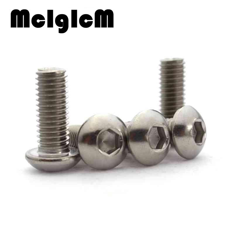 M2 2mm A2 in Acciaio Inox Socket PULSANTE A CUPOLA Testa Allen viti bulloni ISO 7380