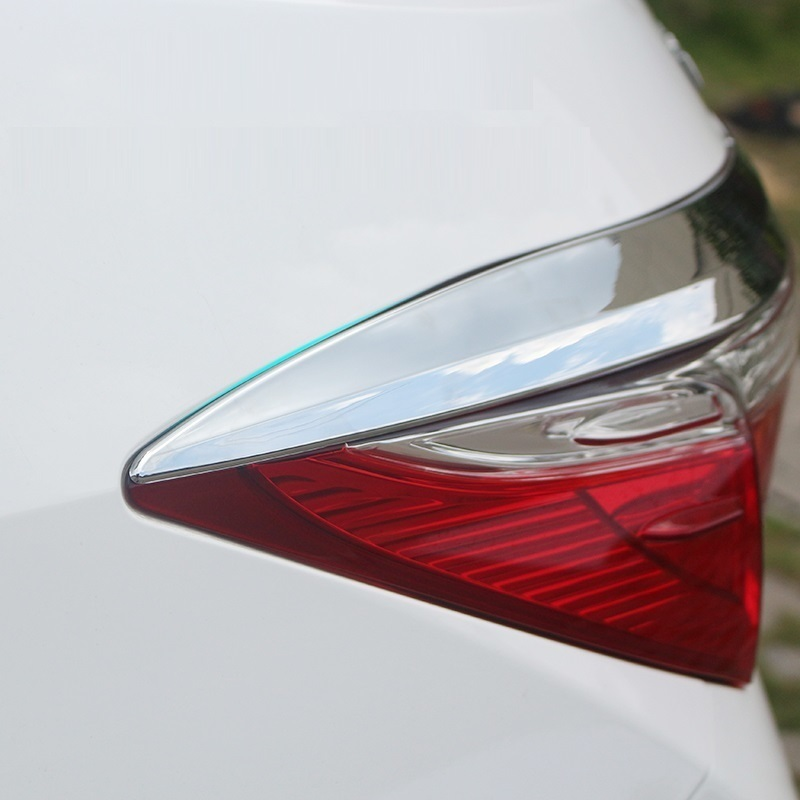 modified automobile car covers accessories decoration chromium styling sequins 14-15 decorative tail lights FOR Toyota Corolla automobile 1 p stalls sequins decorative stickers car accessoires for mazda cx 5