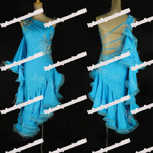 2016 NEW!Latin dance dress,tango salsa samba dance dress, latin dance wear , cha-cha dance dress