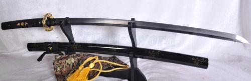 ΥΨΗΛΗ ΠΟΙΟΤΗΤΑ JAPANESE SAMURAI KATANA SWORD ΜΑΥΡΟ - Διακόσμηση σπιτιού - Φωτογραφία 3