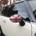 Exterior accessory car styling wing Side Mirror cover caps for Mini Cooper R series