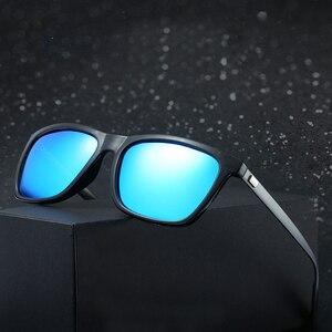 Image 4 - למעלה איכות גברים מקוטב משקפי שמש יוקרה מותג מעצב 2019 אופנה טייס נהיגה משקפיים שמש Mens שחור מחשב משקפי שמש
