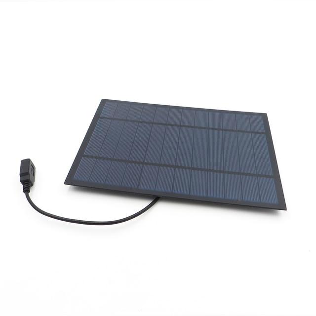 6V 6W Solar Panel Charger DIY  5