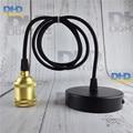 O envio gratuito de tomada de bronze 100% de cobre puro Do Vintage Edison filamento da Lâmpada suporte da lâmpada de luz Industrial Dispositivo Elétrico De Iluminação Do Vintage