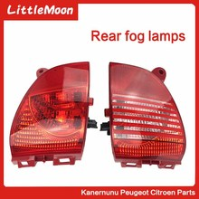LittleMoon Rear taillight assembly bumper, etc. Reversing light For Peugeot 2008 308cc Citroen C3