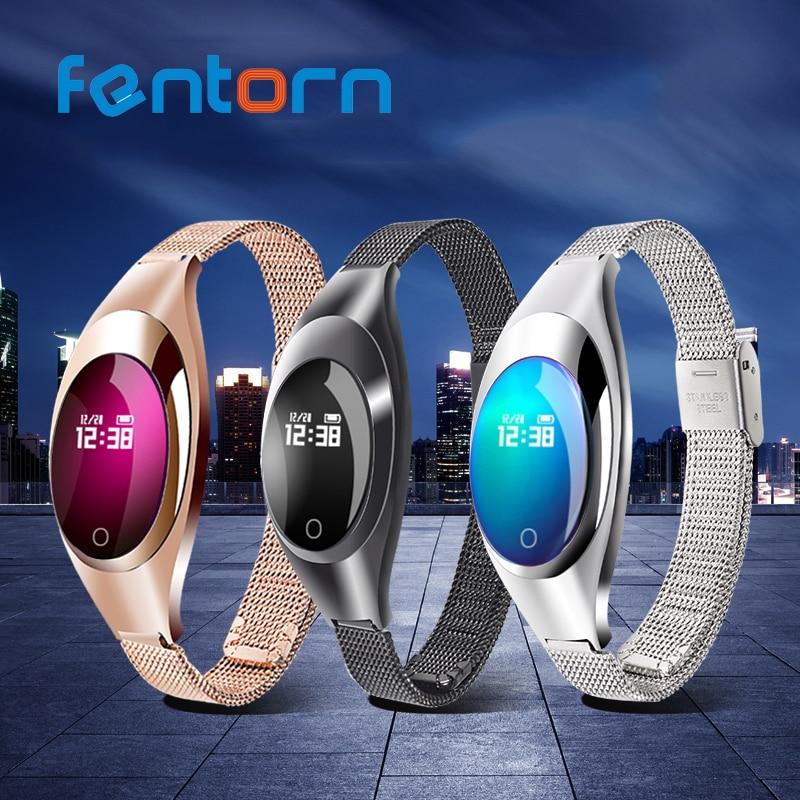Fentorn Woman Z18 Heart Rate Smart Band Blood Oxygen Wristband Smart Bracelet Sleep monitoring Smartband for