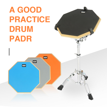Practice Drum Pad Set Rubber Wooden Drum Practice Silencer Pads Drumming Quiet Training Drum Pad Musical Instrument Percussion