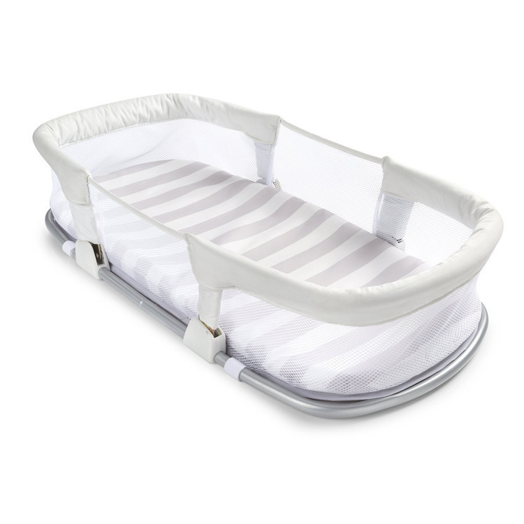 где купить Baby bed bed newborn portable bed folding sleeping basket multifunctional travel baby bed bb дешево