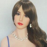 Высокое качество кукла голова для европейских силиконовых секс кукла оральный Японская секс игрушка голова секс куклы