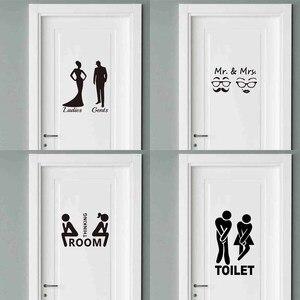 Mr. & Mrs. Quotes Door Sticker