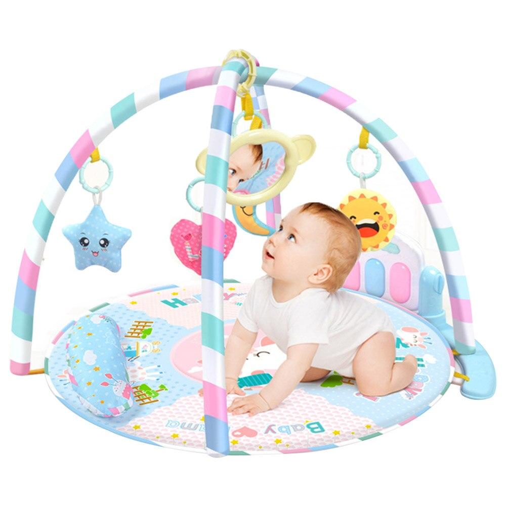 2019 nouveau tapis de jeu éducatif pour bébé activité bébé Gym cadre de Fitness multi-support bébé jouets tapis de jeu