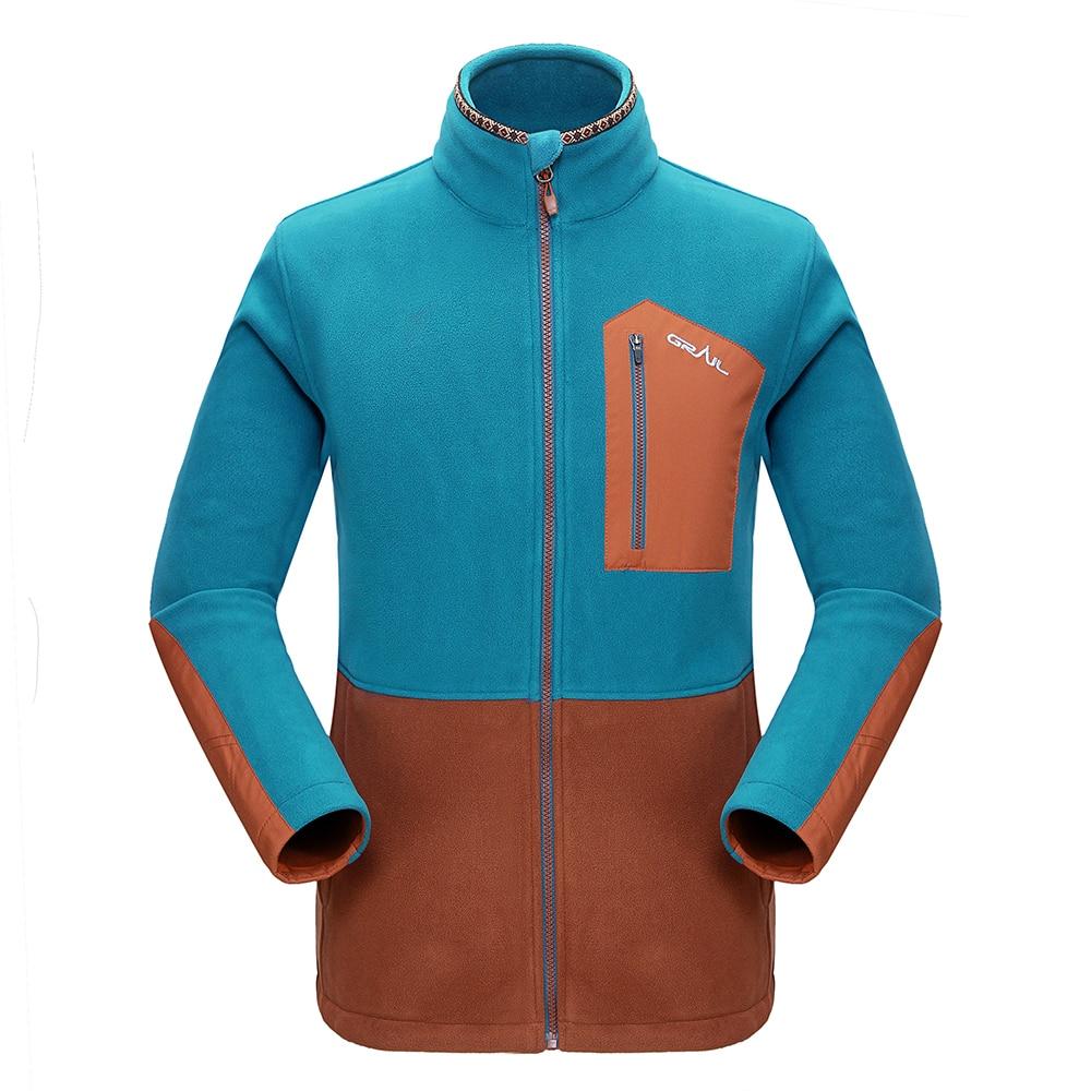 Grail Outdoor Hiking Jacket Ерлер Thicken Brand Fleece Jacket - Спорттық киім мен керек-жарақтар - фото 3