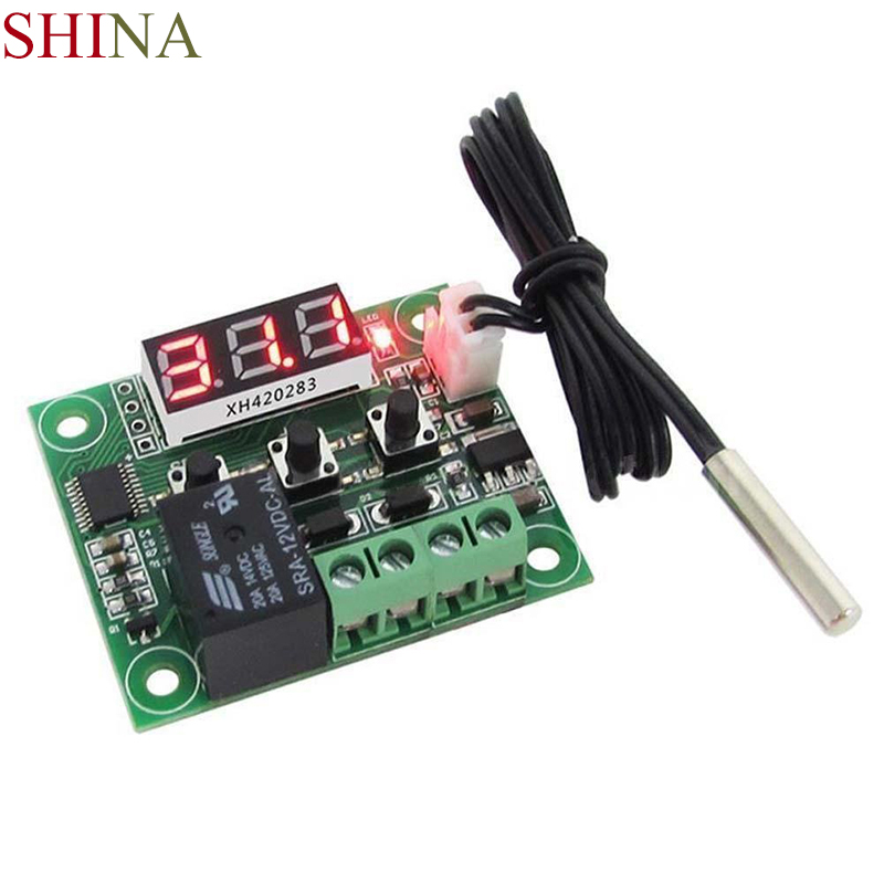 5V/12V/24V/220V LED Digital Thermostat Temperature Control Thermometer Thermo Controller Switch Module Waterproof NTC Sensor цена 2017