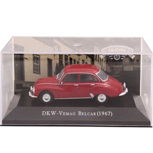 IXO Altaya 1:43 Scale DKW Vemag Belcar 1967 Toys Cars Diecast Models Limited Edition Collection(China)