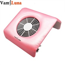 Nail Vacuum Cleaner Suction Dust Collector Manicure Machine  with 3 Reusable Dust Collecting Bags