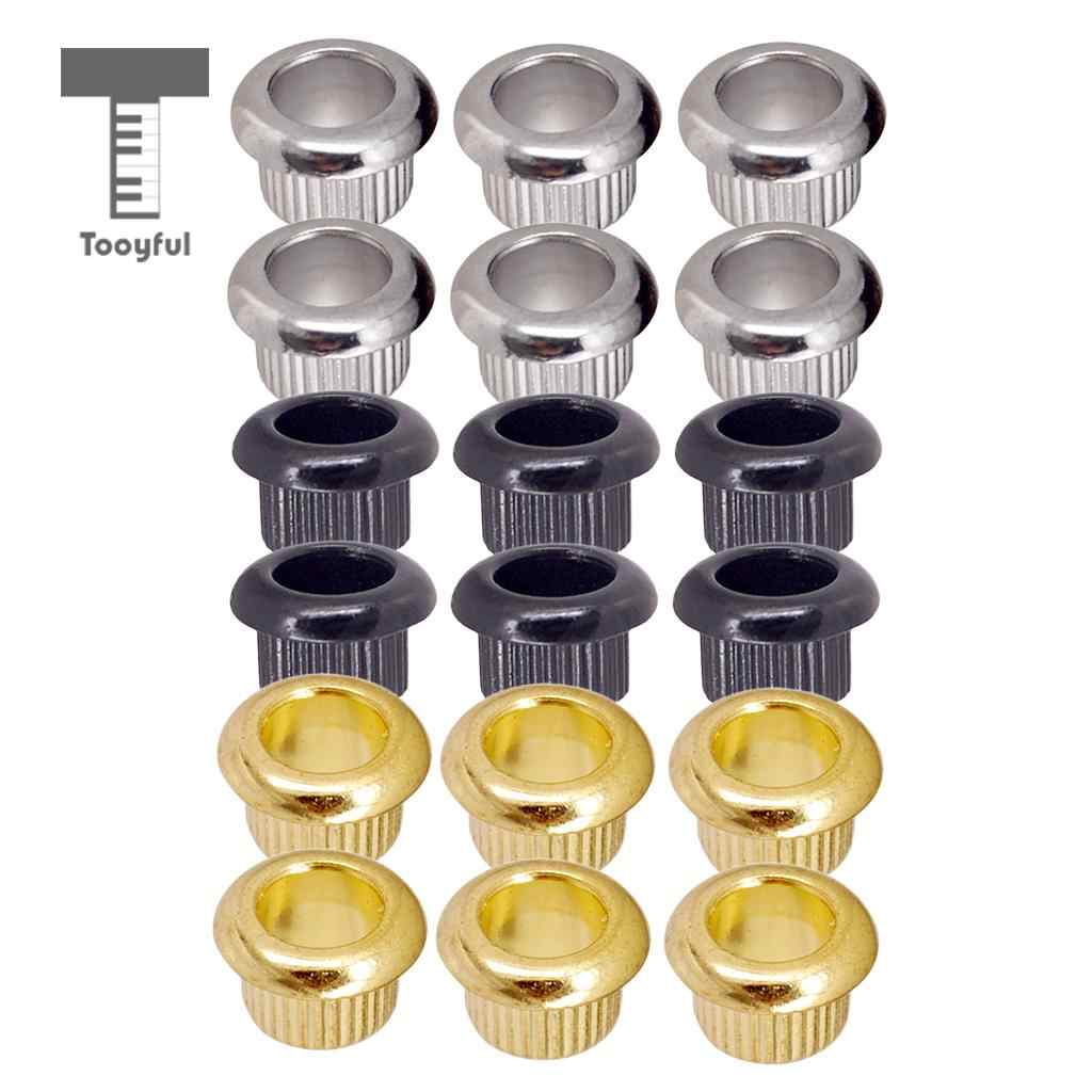Tooyful 6 Pieces Guitar Tuners Conversion Bushings Set for LP Electric Guitar Parts