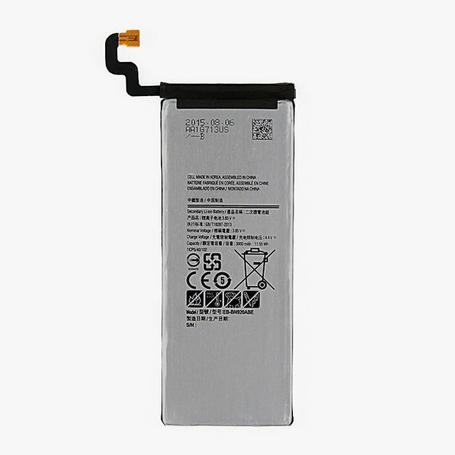 Free Shipping YIYME Original Replacement Phone Battery For Samsung GALAXY Note 5 N9200 N920t N920c Note5 SM-N9208 N9208 3000 mAh