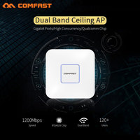 COMFAST 1200M Dual Band Gigabit Wireless AP 5 8GHz Openwrt 48V POE Wi Fi Access Point