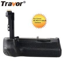 Travor мульти мощность Вертикальная Батарейная ручка для Canon 6D Mark II 6D2 DSLR камера Замена BG-E21 BGE21