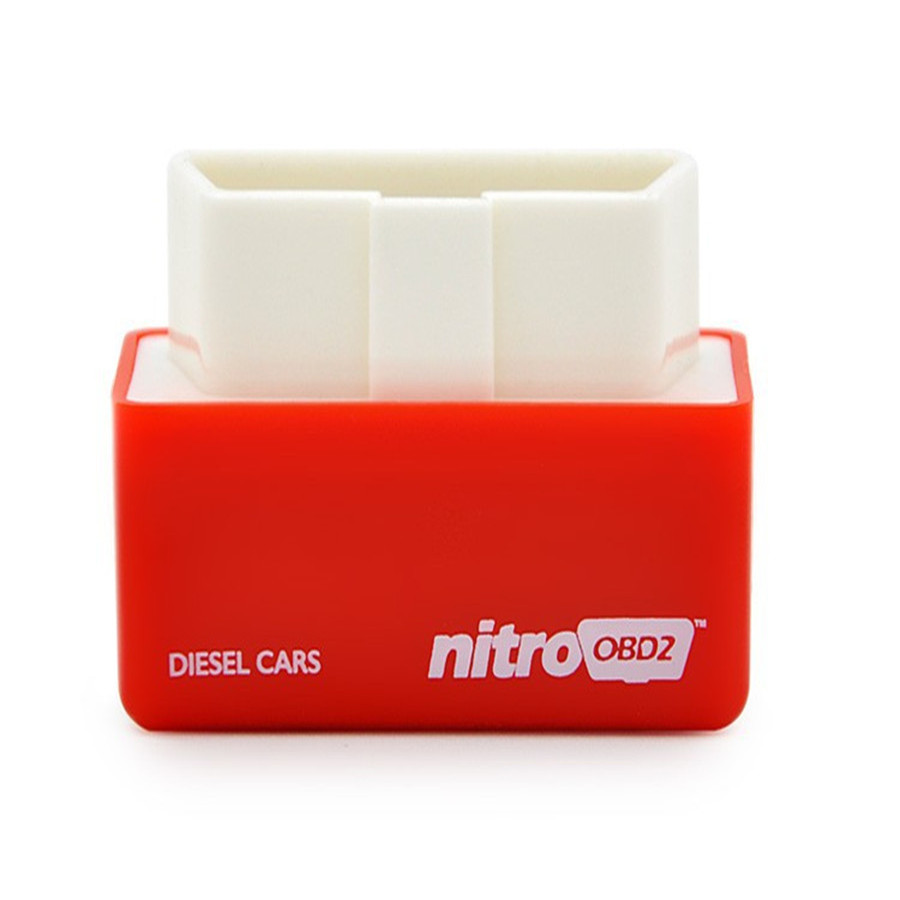 50pcs NitroOBD2 Diesel Cars Chip Tuning Box Plug and Drive Nitro OBD2 More Power and More
