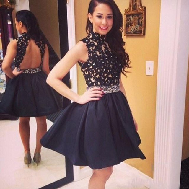 Cut Out Short Homecoming Dresses