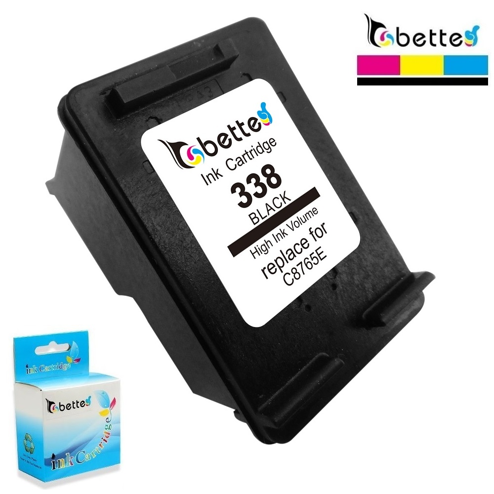 BETTE <font><b>Ink</b></font> Cartridge Replace for <font><b>HP</b></font> 338 hp338 Photosmart <font><b>C3100</b></font> C3110 C3125 C3135 C3140 C3150 C3170 C3173 C3175 C3180 C3183 C3188 image