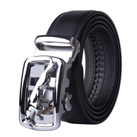 2018 New Top Brand Mens Real Cowskin Belt Automatic Buckle Large Genuine Leather Luxury Designer Belts