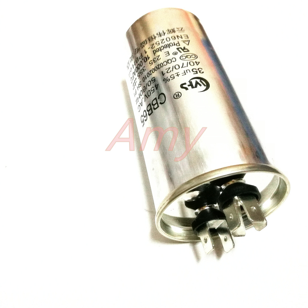 Cbb65 Air Conditioning Capacitor 35uf 450v Pressor Start. Cbb65 Air Conditioning Capacitor 35uf 450v Pressor Start Cbb65a 1 Electrodeless Capacitorin Capacitors From Electronic Ponents Supplies. Wiring. Cbb65a Capacitor Wire Diagram At Scoala.co