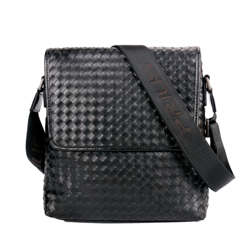 handbags Leather Mens Bag Weave Style Mens Shoulder Bag Half Flap Diagonal Bag Business Briefcasehandbags Leather Mens Bag Weave Style Mens Shoulder Bag Half Flap Diagonal Bag Business Briefcase