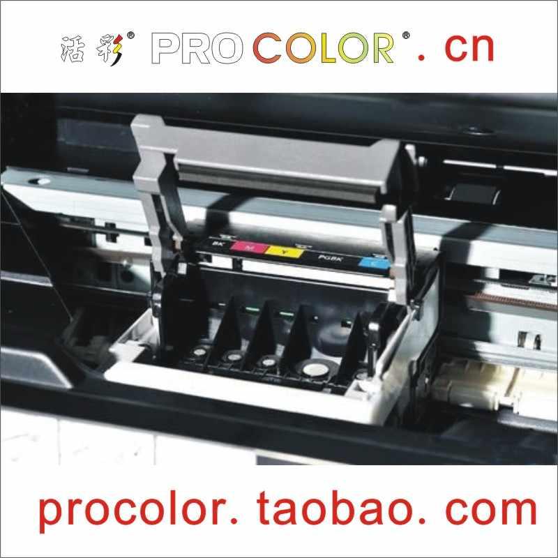 Qy6-0070 printhead ciss tinta dye bersih cair alat untuk canon ip3500 ip3300 mx700 mp510 mp520 printer aksesoris