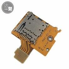 10 adet yeni SD TF kart soketi için oyun konsolu kart okuyucu yuvası soket