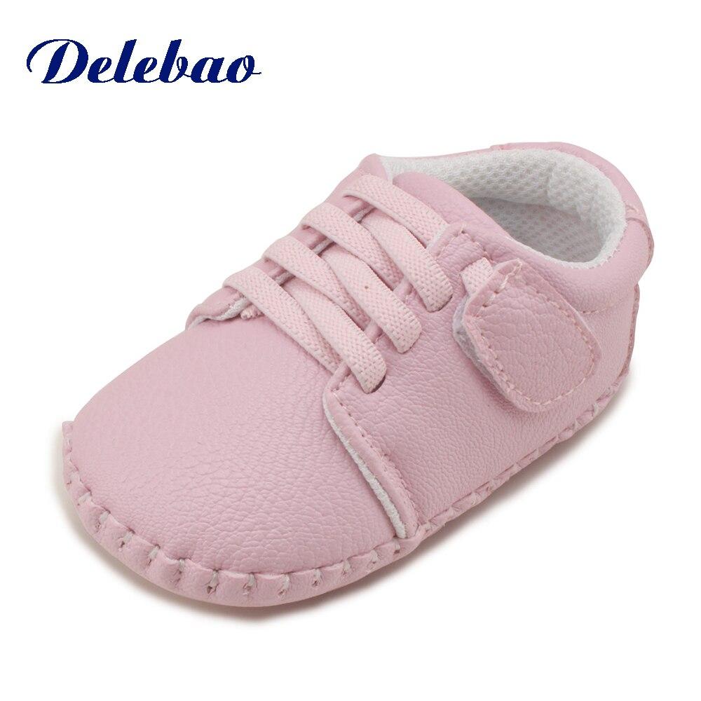 De nieuwe mode ondiepe patchwork rubberen baby schoenen voor 0-2 jaar - Baby schoentjes - Foto 3