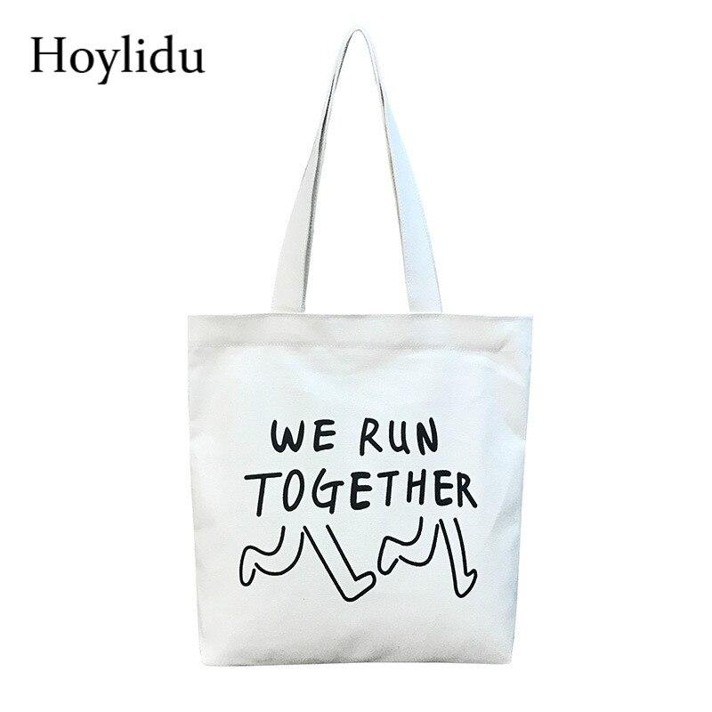女性再利用可能なショッピングバッグカジュアルイエロー漫画キャンバストートバッグ環境保護食料品バッグ女性の日常使用ハンドバッグトートバッグ
