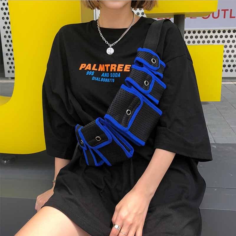 2018 Luxury Fanny Pack For Women Men Waist Bag Multi-pocket Purse Heuptas Pochete Unisex Fashion Chest Bum Hip Bag Waist Pack