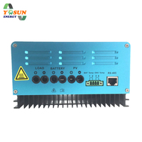 MPPT Solar Charge Controller 12/24/48V 30/60A Battery Charger Controller Auto Solar Controller Rregulator Solar Mppt Cell Panel