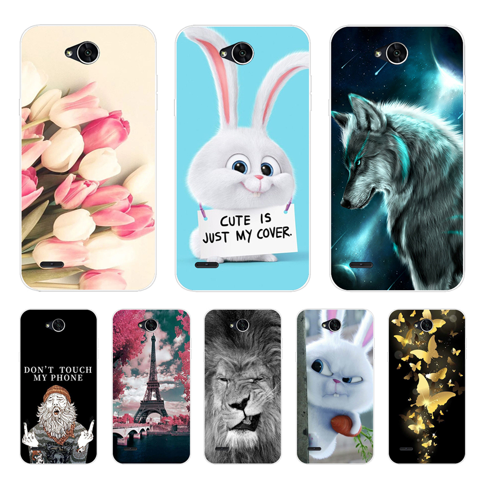 Couple Sky Moon Earth Case For LG X Power 2 Soft TPU Silicone Phone Capa Back Cover For LG XPower 2 Case Fundas Fashion Coques