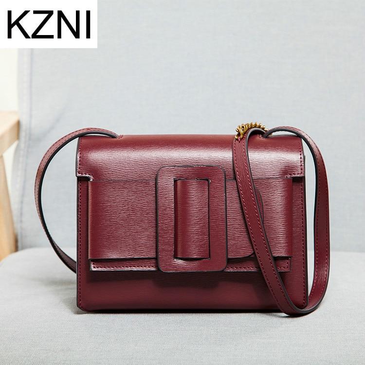 KZNI woman bags 2017 bag handbag fashion handbags crossbody bags for women bolsas femininas bolsas de marcas famosas L010809