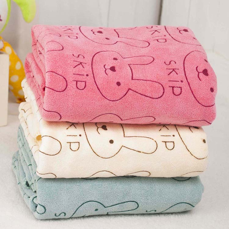 1 Pc Pet Supplies Large [model] Thick Towel Towel Cartoon Bunny Pet Dog With Large Dogs CTRQ0527