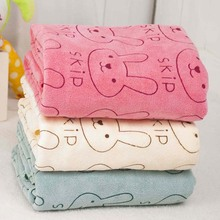 1 pc Pet supplies large [model] thick towel cartoon Bunny pet dog with dogs cTRQ0527