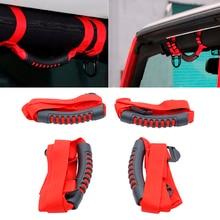 Roll-Bar-Grab-Handles Jeep Wrangler Freedom Sahara for YJ TJ JK JL Sports 2PCS Durable-Suit